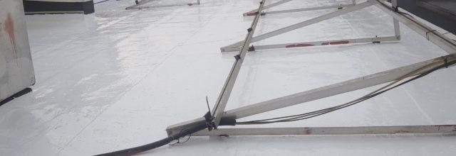 Dach po renowacji w systemie Hyperdesmo